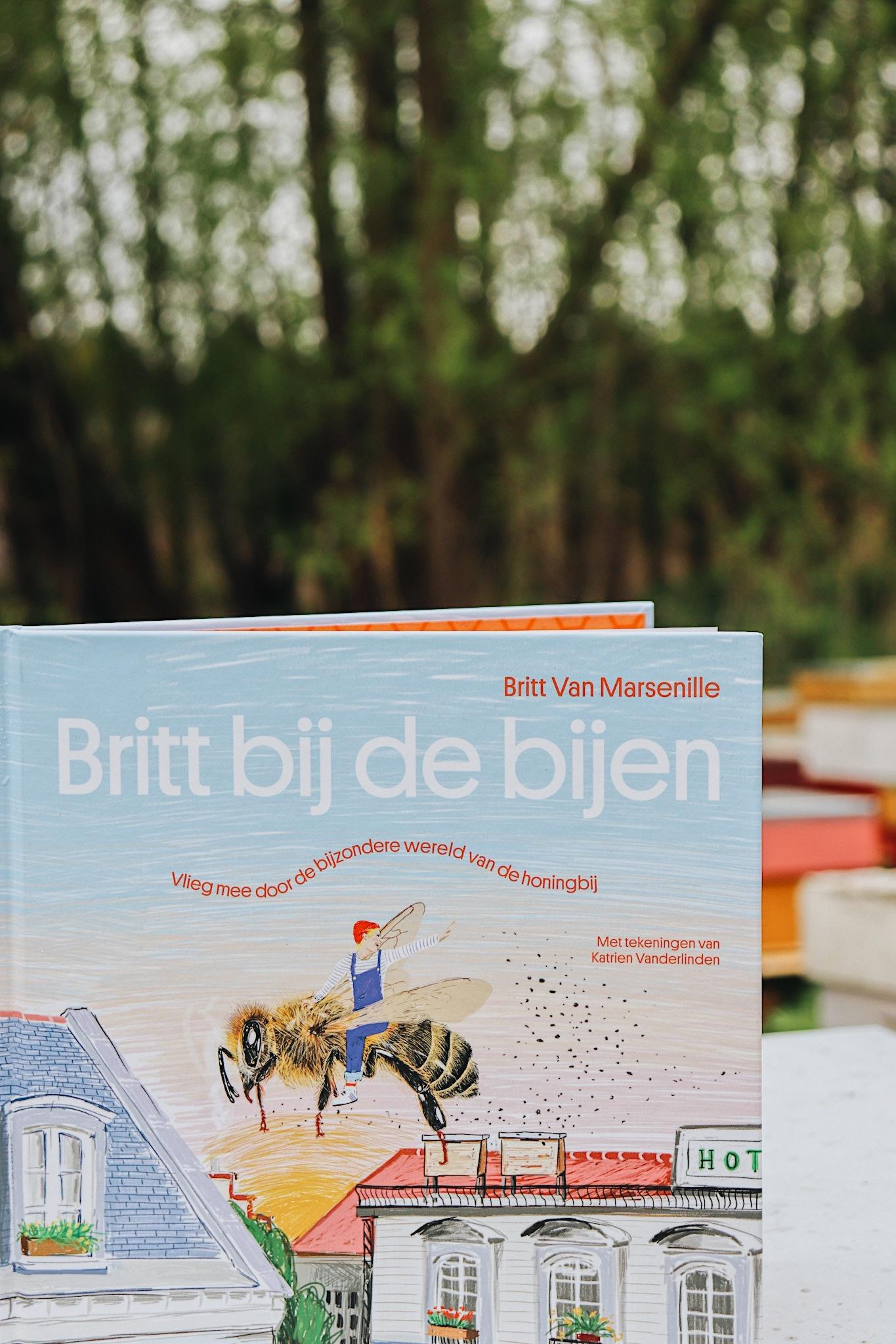 Kinderboek britt bij de bijen-2