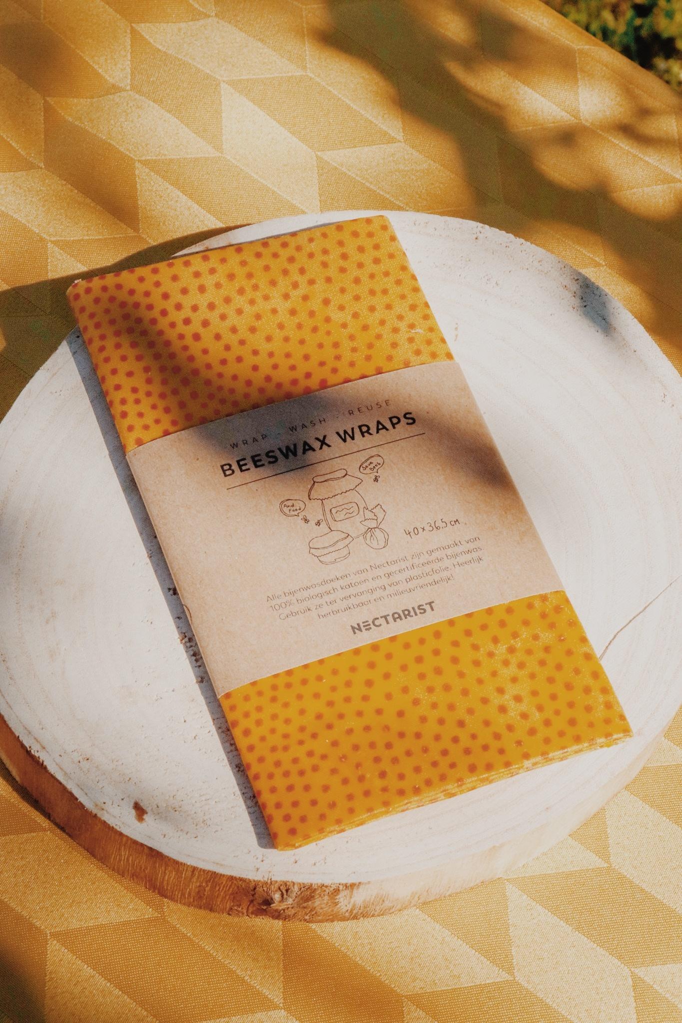 Tissu de cire d'abeille Large-3