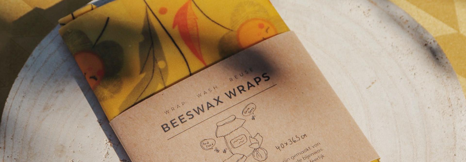 Tissu de cire d'abeille Large