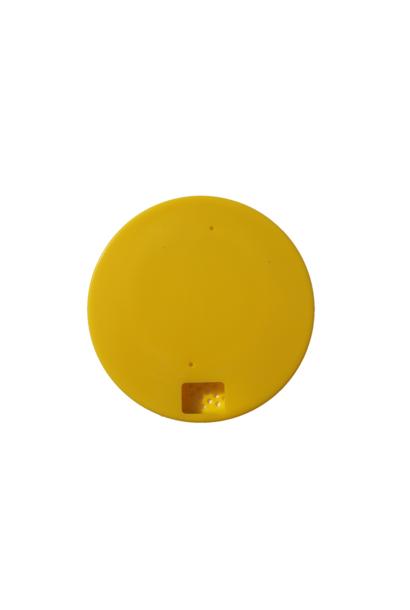 Round bee escape - yellow
