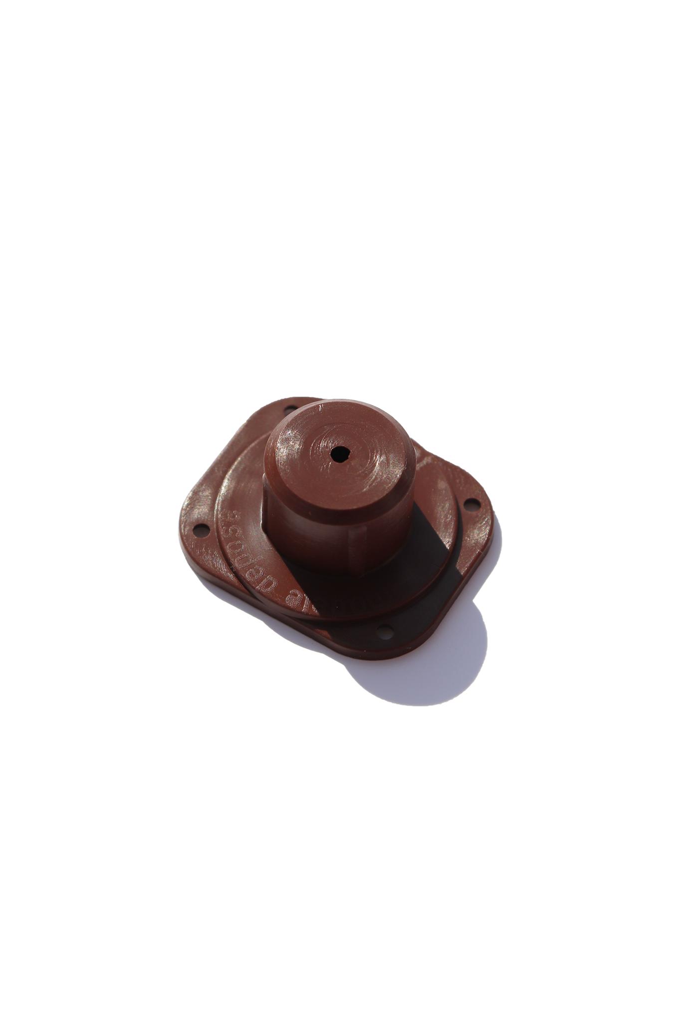 Bruine nicot bevestiger (100 stuks)-2