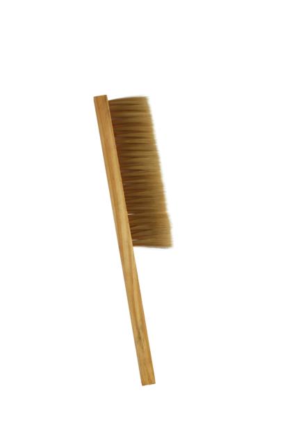 Wooden brush - small & fibre