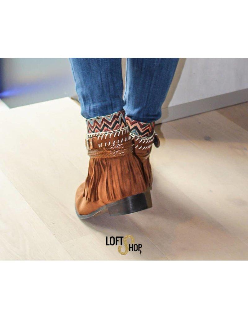 Nionio Boots Indian Camel