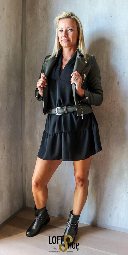 Georgia Leather Jacket Lily