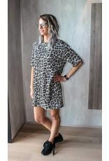 Trendy Store Dress Sophia Leopard TU