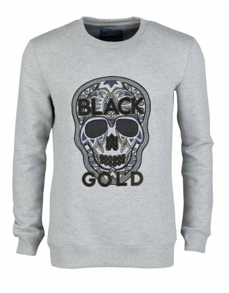 Black and Gold Craneo