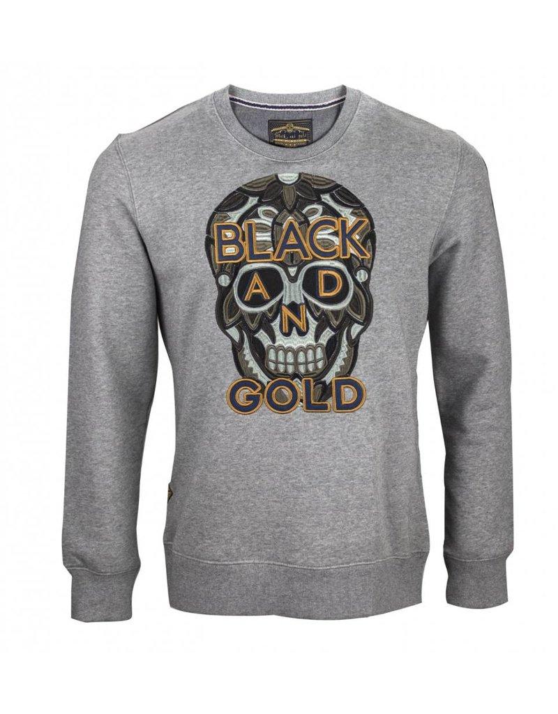 Black&Gold Craneo Dark Grey