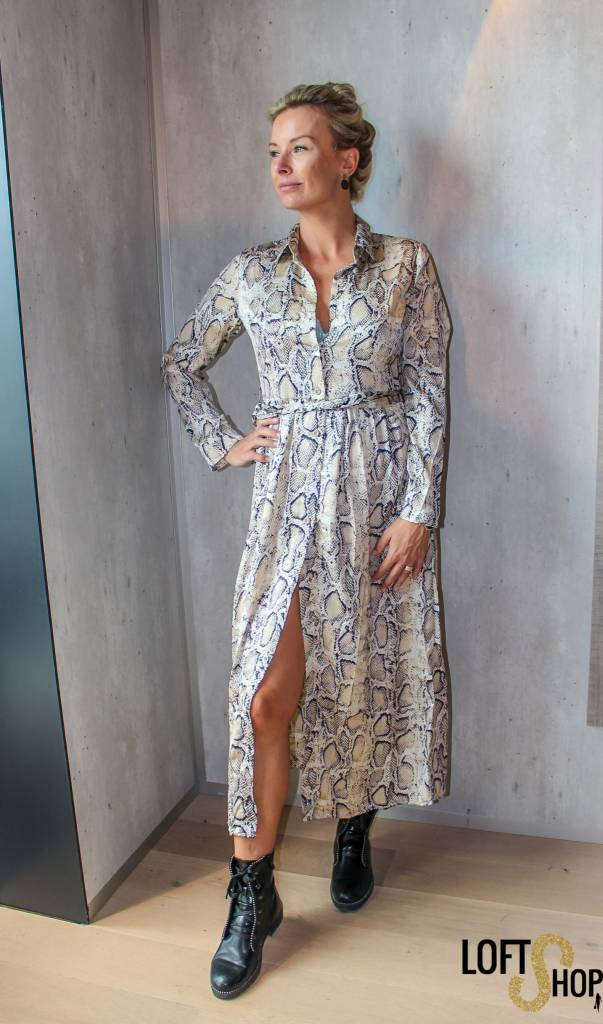 Millenium Dress Jill Beige