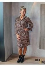 V-Code Dress Lara Leopard