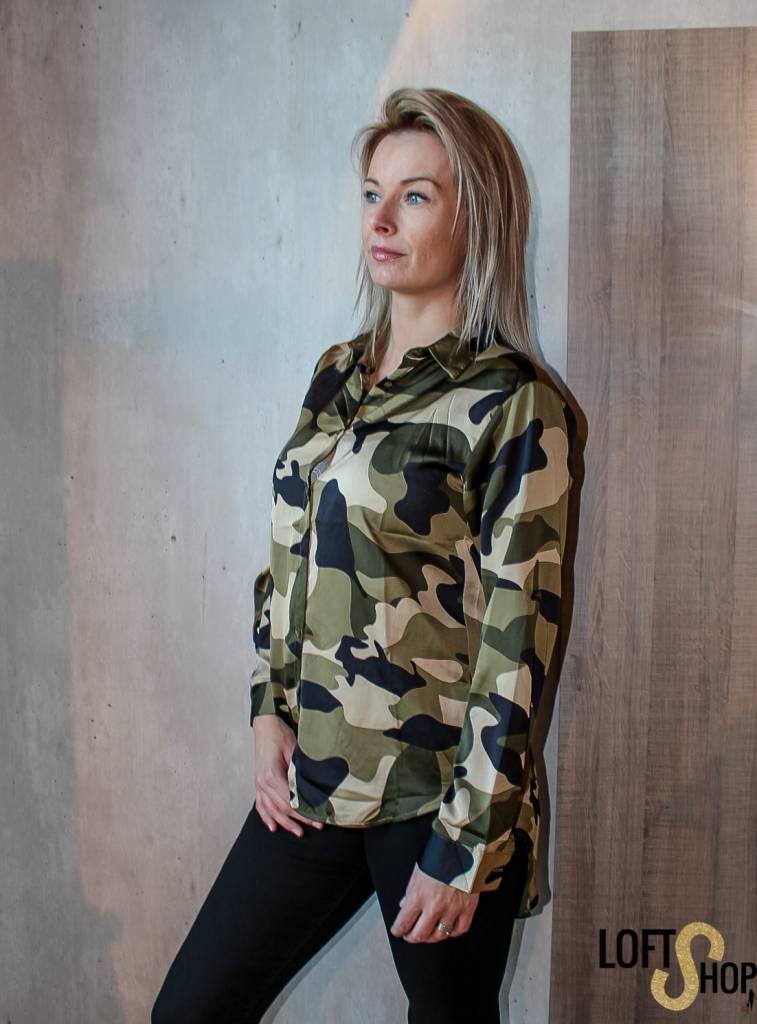 Millenium Blouse Camouflage