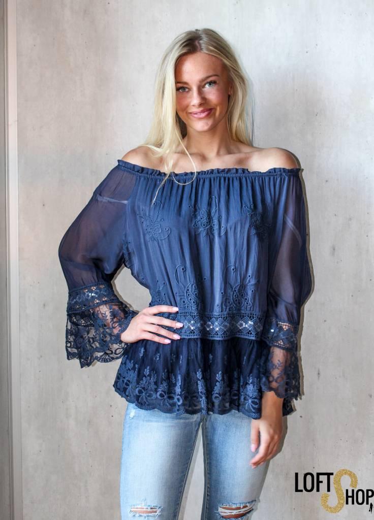 New Beauty Blouse Lisa Blue TU