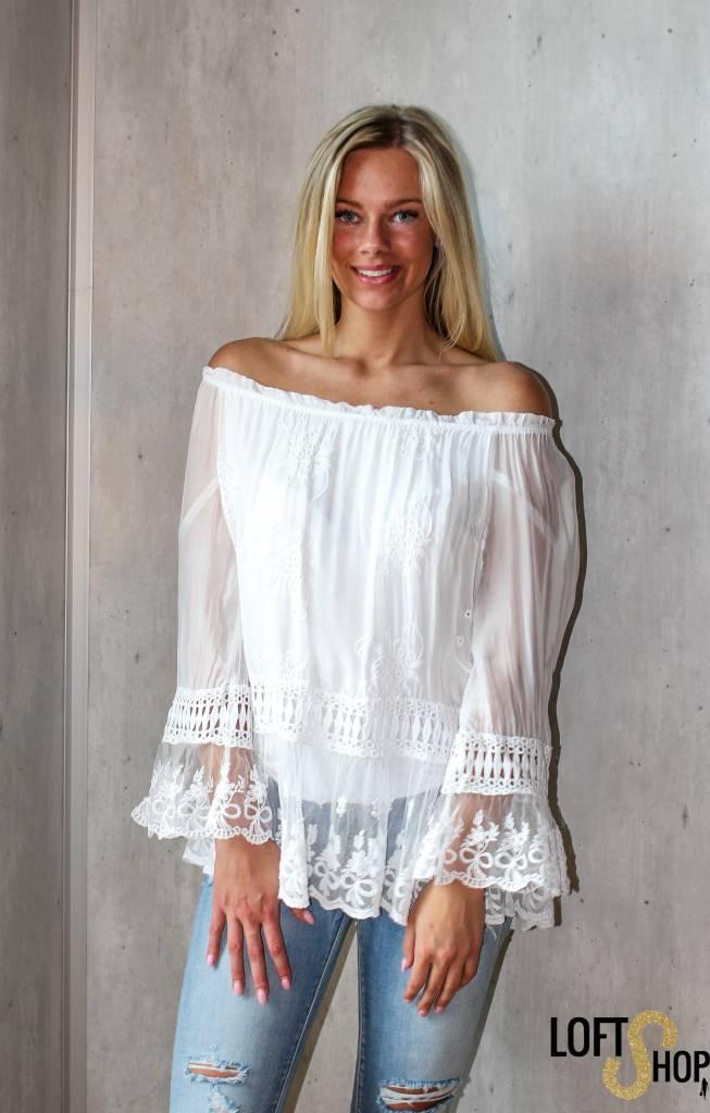 New Beauty Blouse Lisa White TU