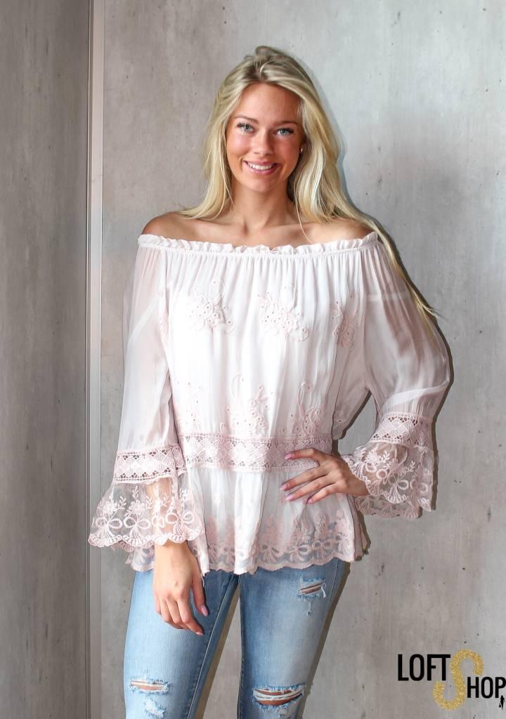 New Beauty Blouse Lisa Pink TU