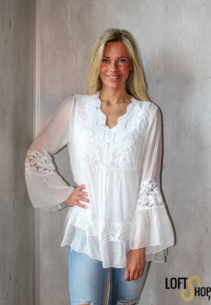 New Beauty Blouse Nana White TU