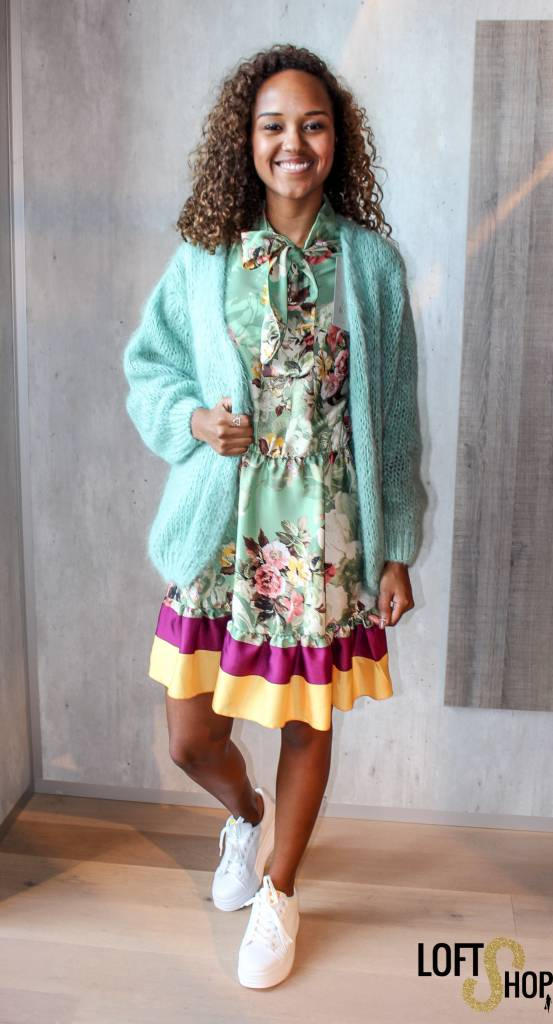 Blu Royal Dress Bab Green TU