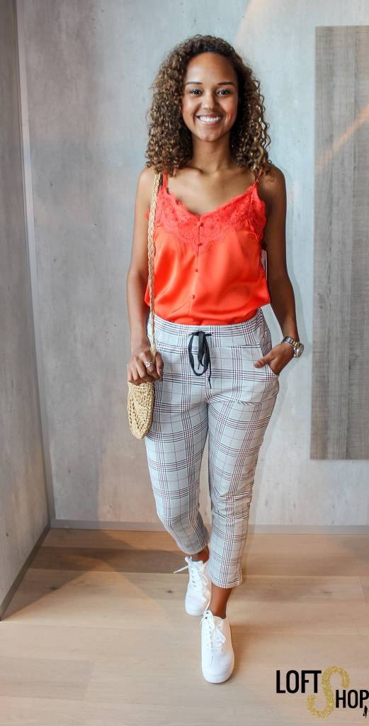 Only Moda Top Lilou Red TU