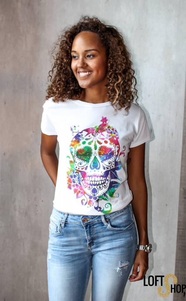 Vanilla T-shirt Skull