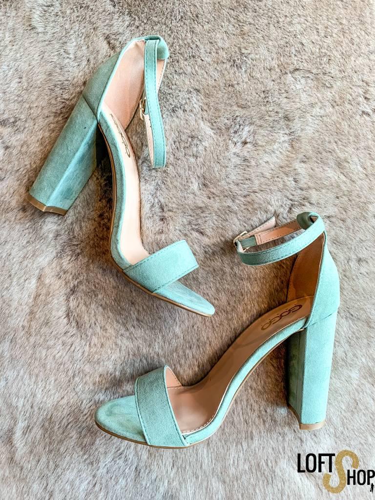 Shoes Show Heels Melanie Mint Green