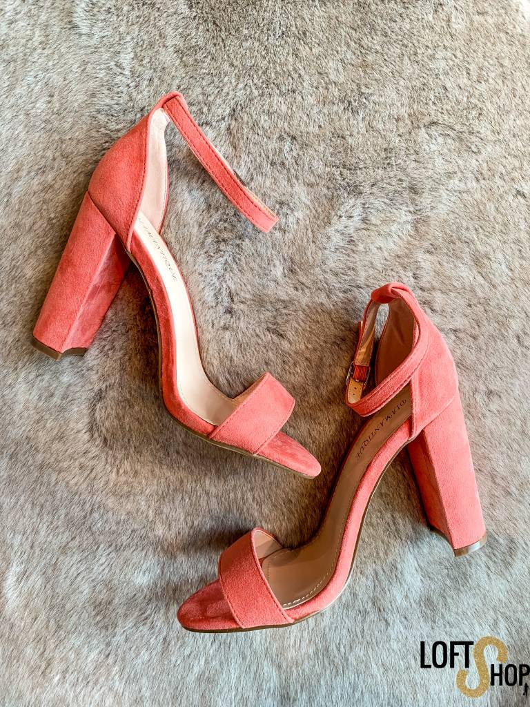 Shoes Show Heels Melanie Watermelon Red