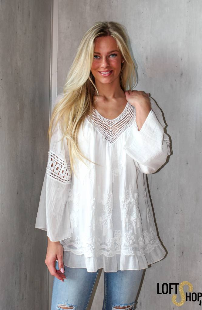 New Beauty Blouse Myriam White TU