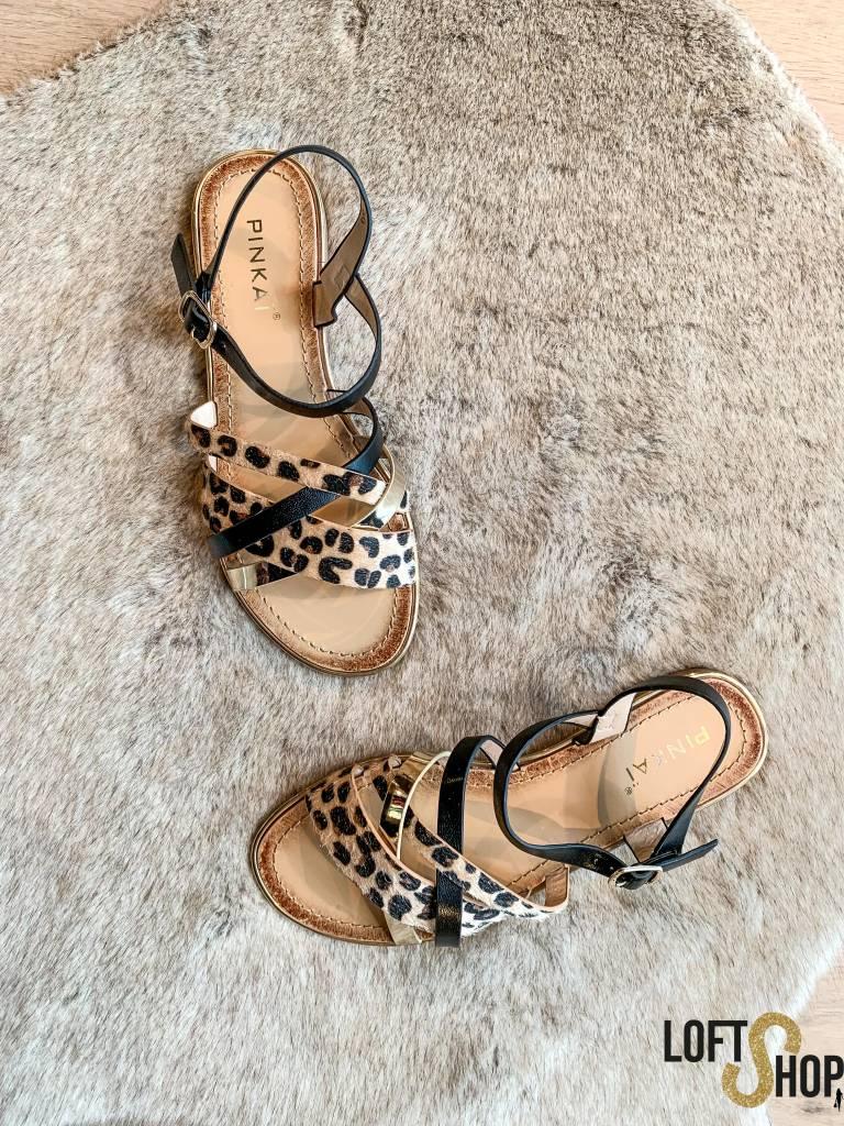 Pinkaï Sandaal Leopard