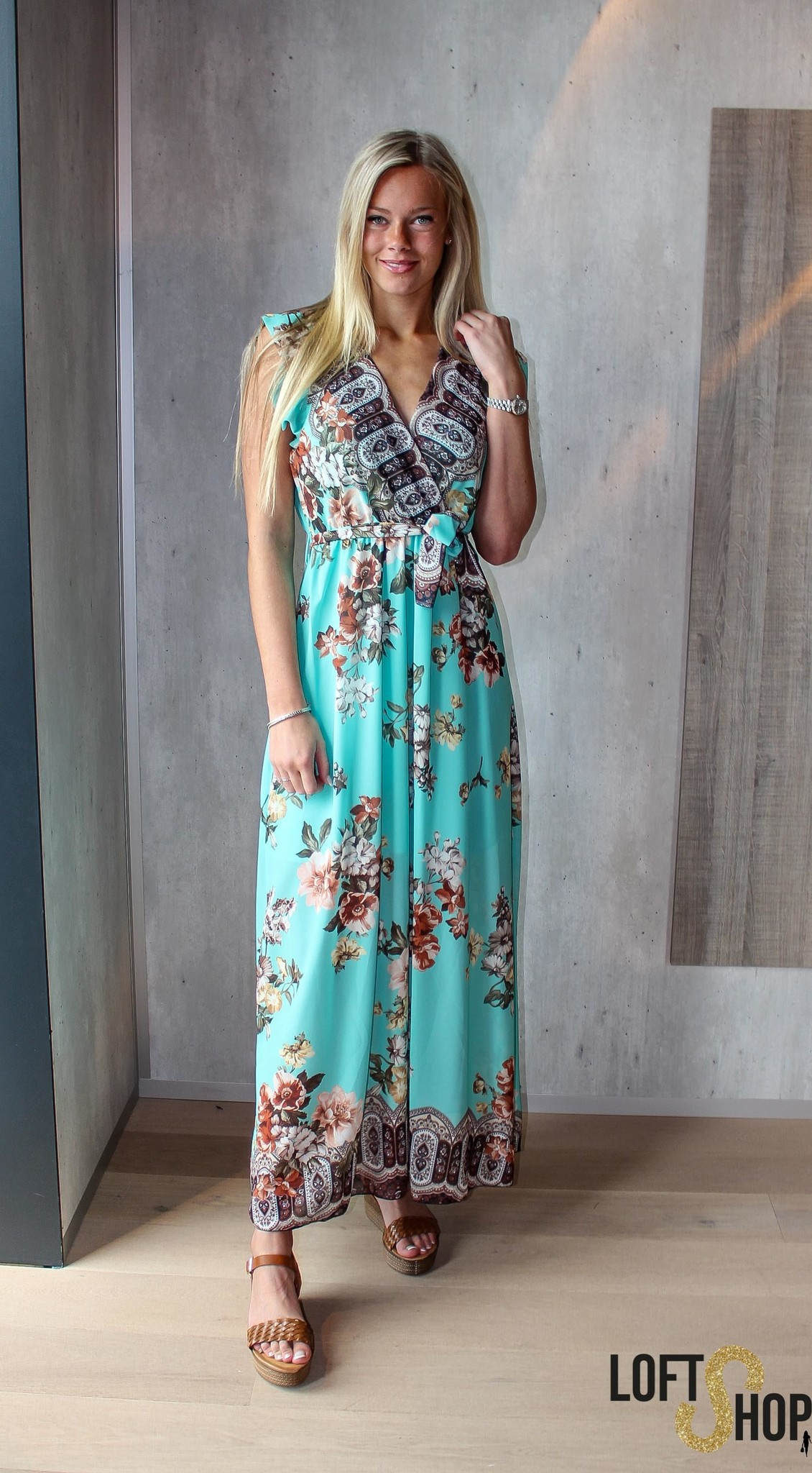 Blu Royal Dress Bea Turquoise TU