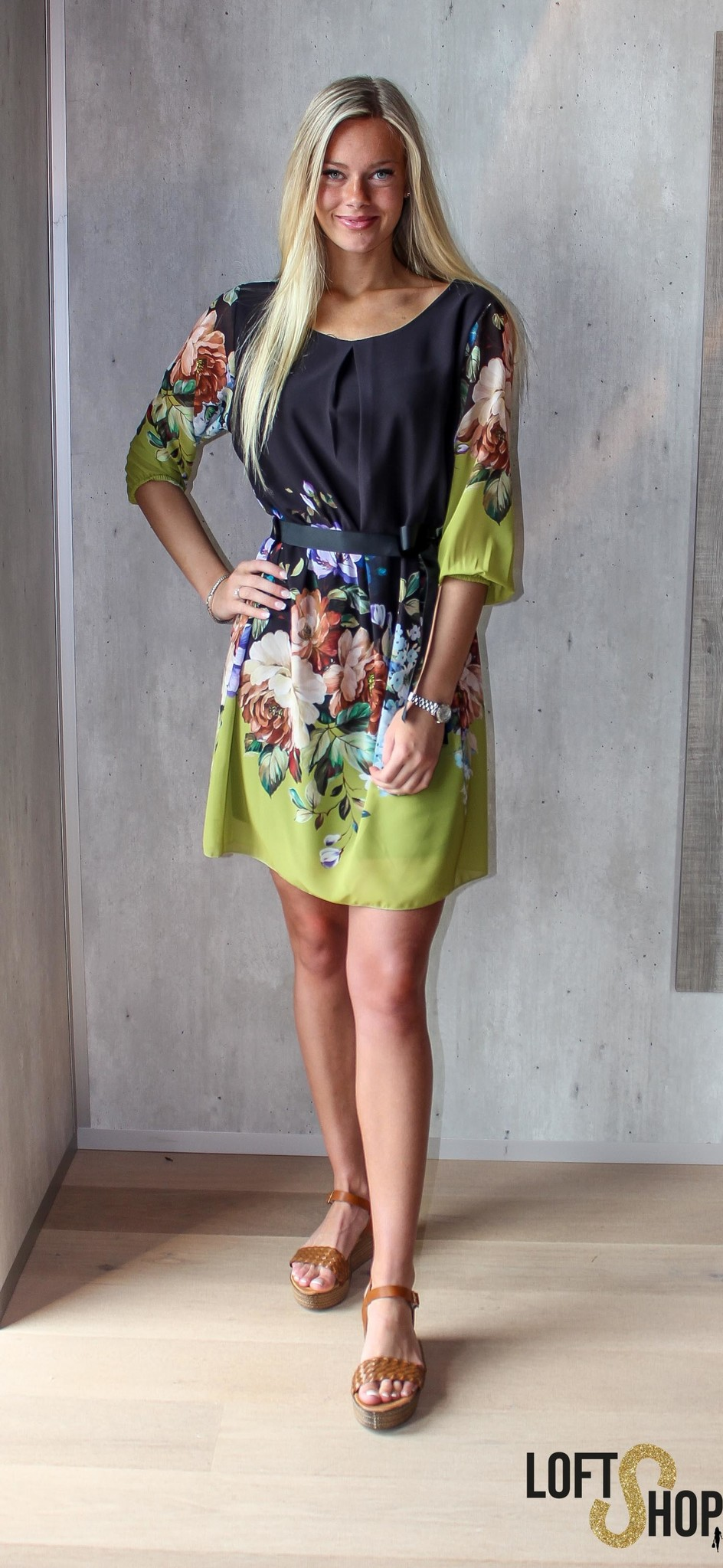 Blu Royal Dress Ariana TU