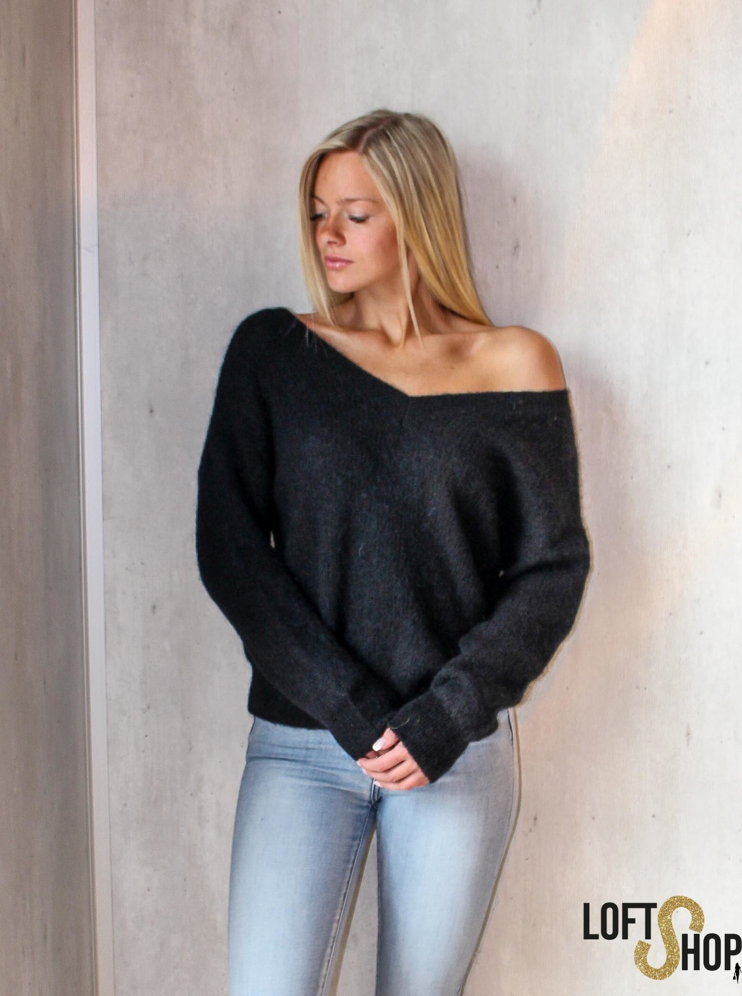 Nais Pull Misty Black TU