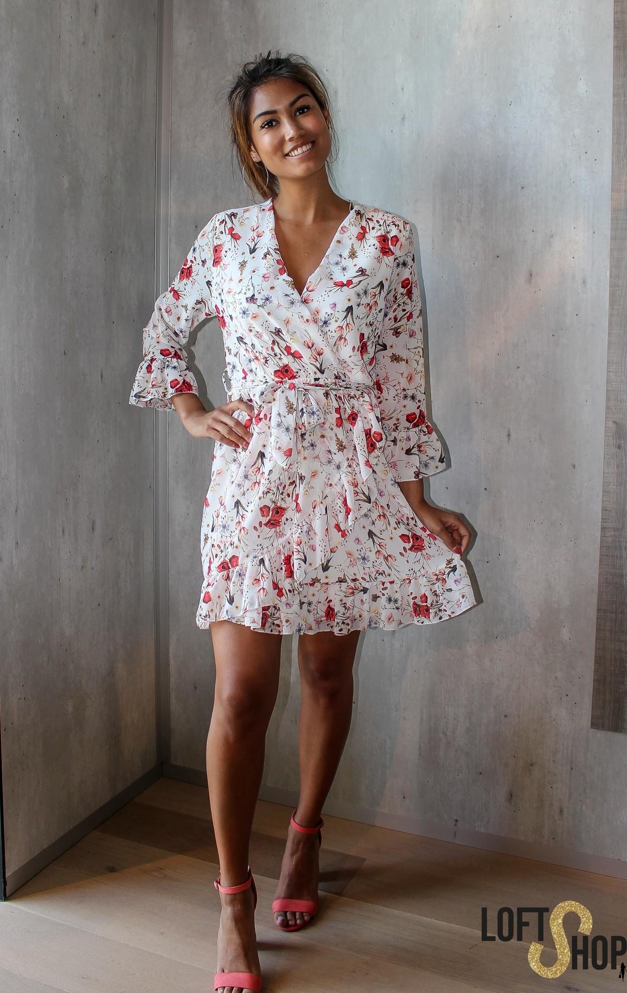 Lisa Fashion Dress Belle White TU