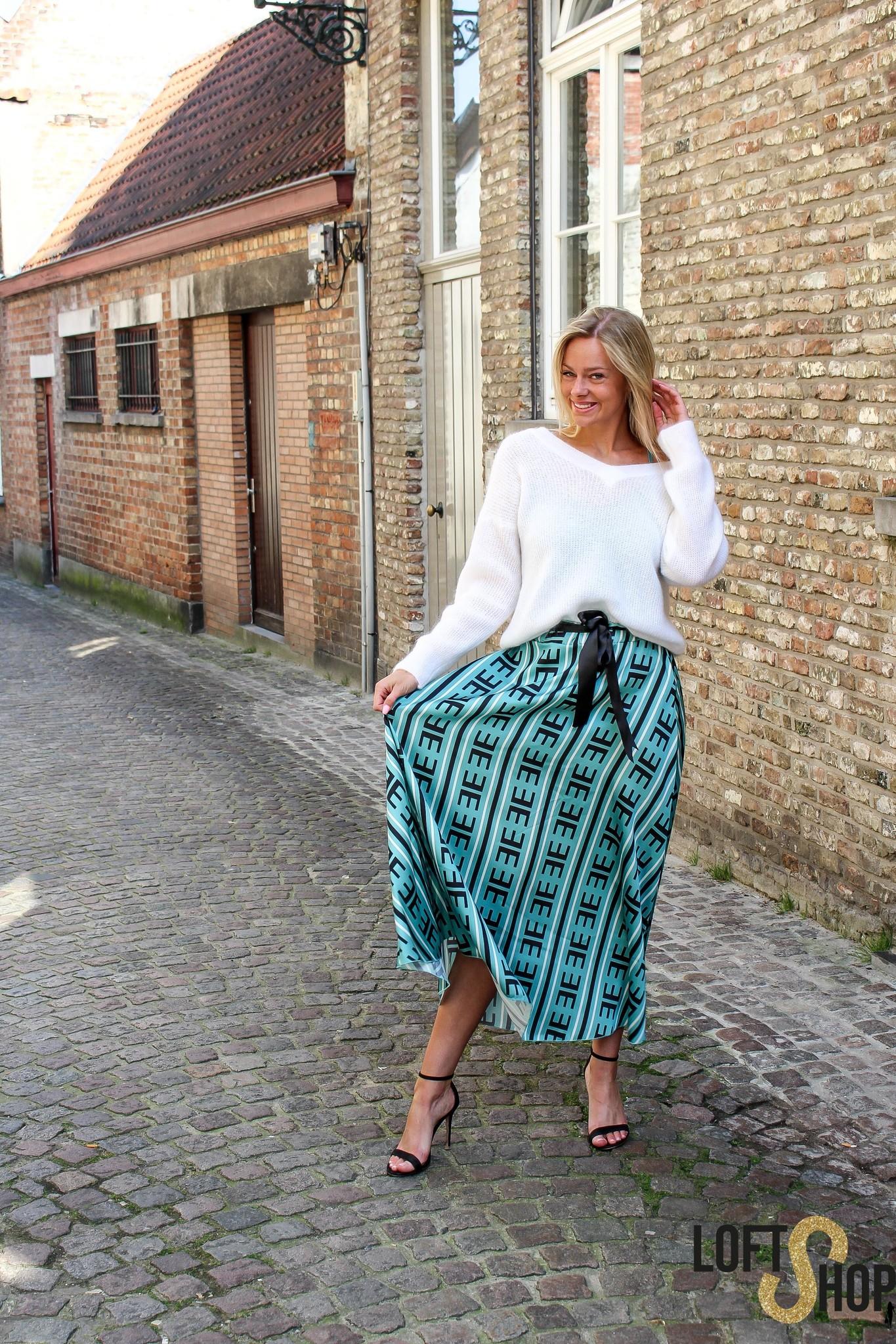 Blu Royal Skirt Kim Turquoise TU