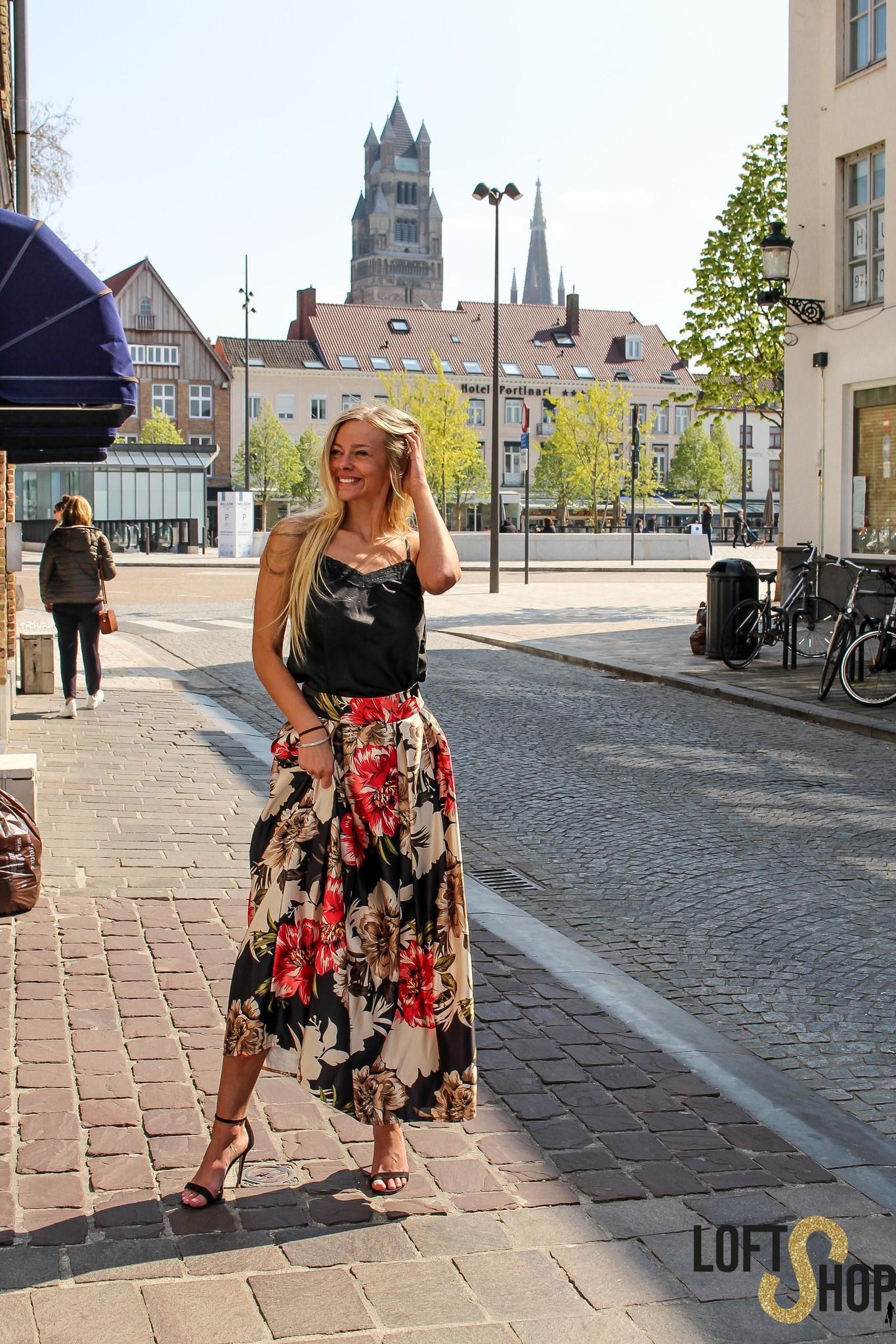 Lisa Fashion Top Elle Black TU