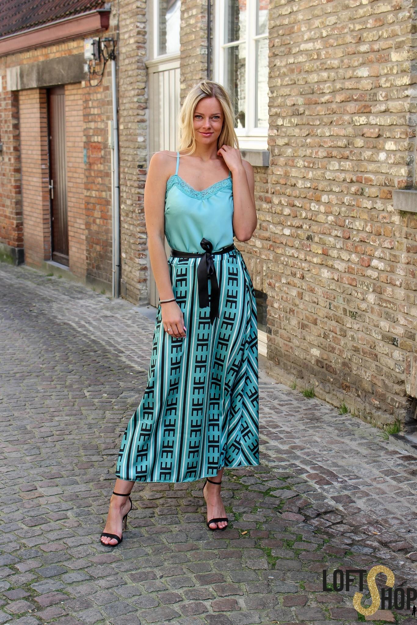 Lisa Fashion Top Elle Turquoise TU