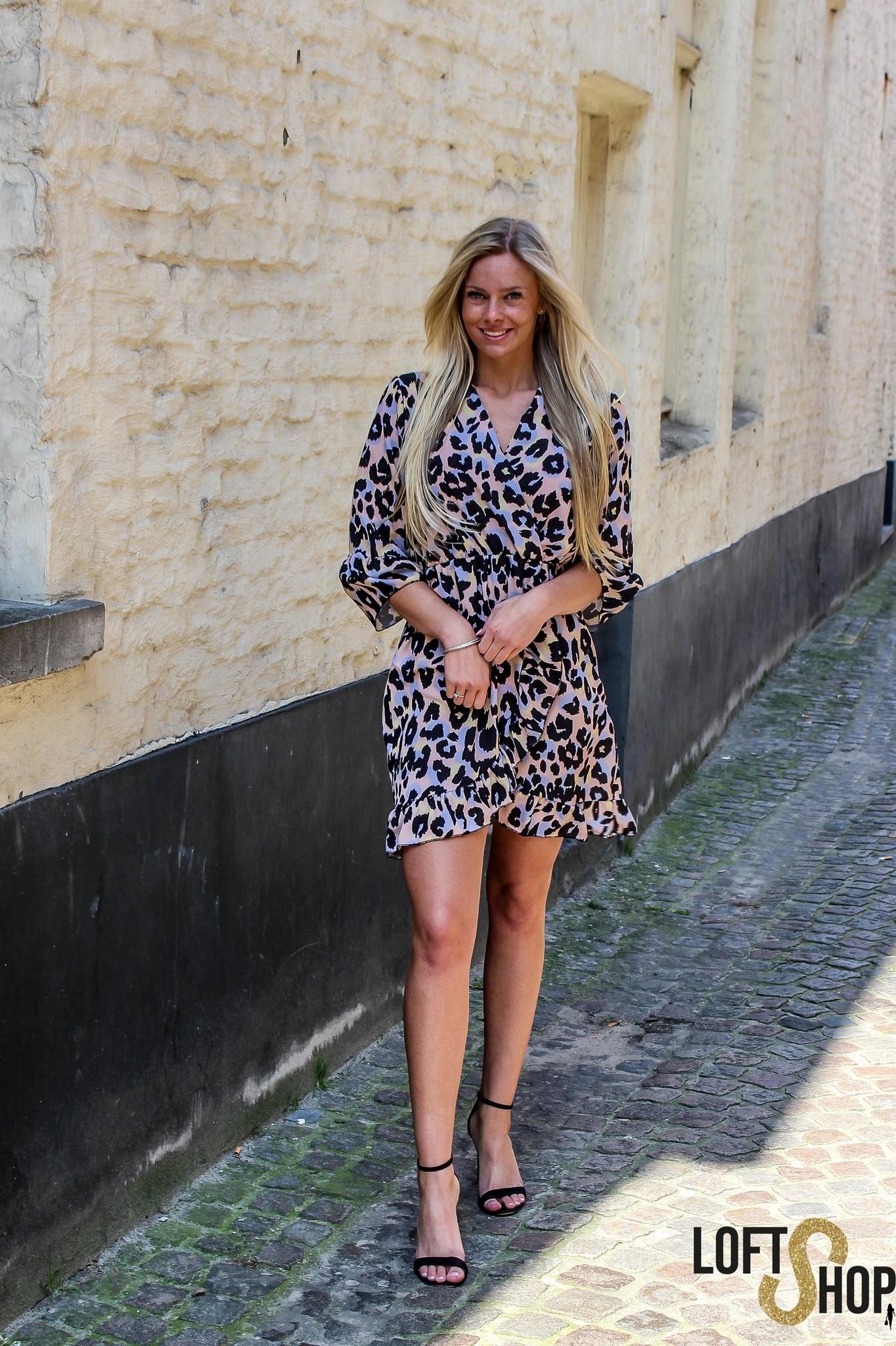 Lisa Fashion Dress Ruth Leopard TU