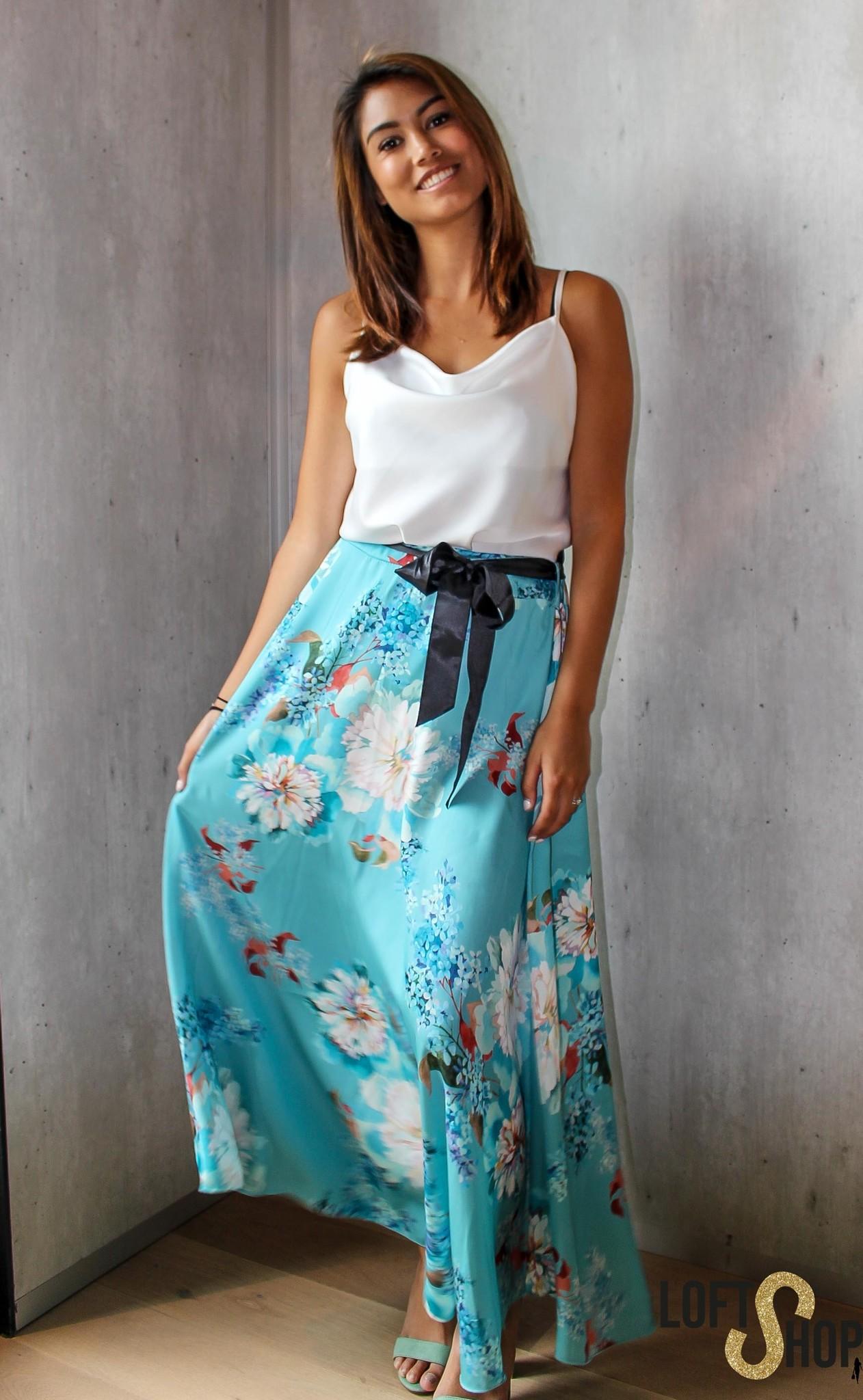 Blu Royal Skirt Nicky Blue TU