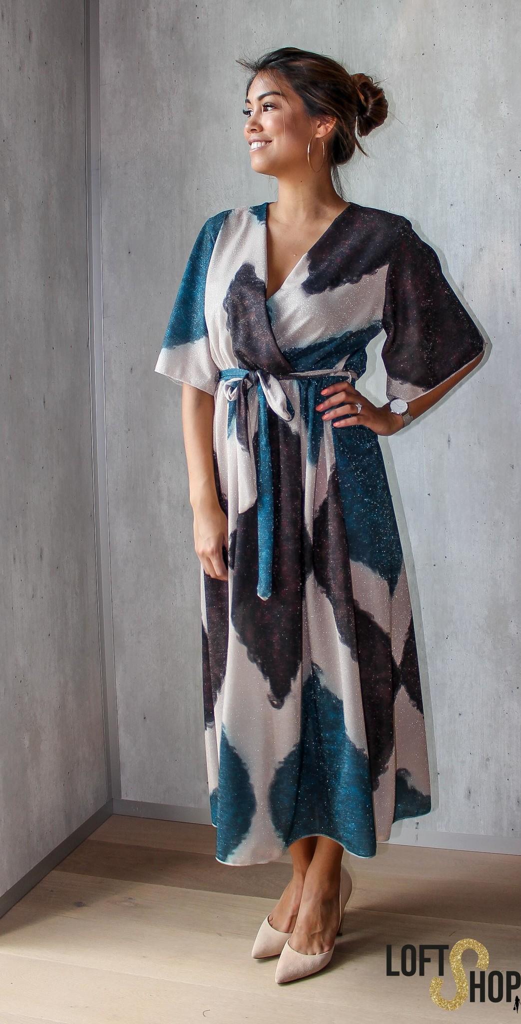 J&D Fashion Dress Kamila Blue TU
