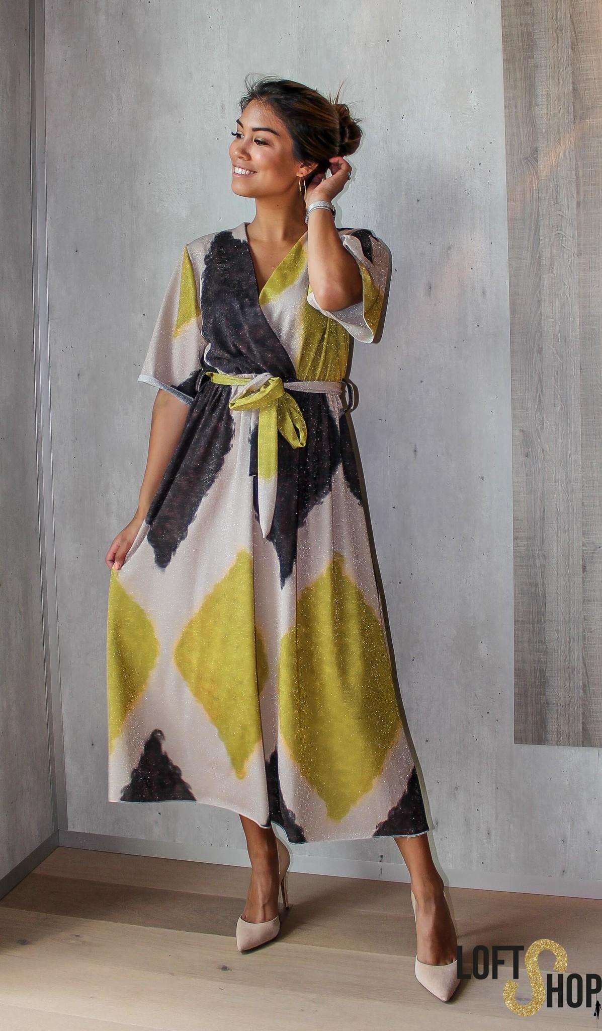 J&D Fashion Dress Kamila Yellow TU