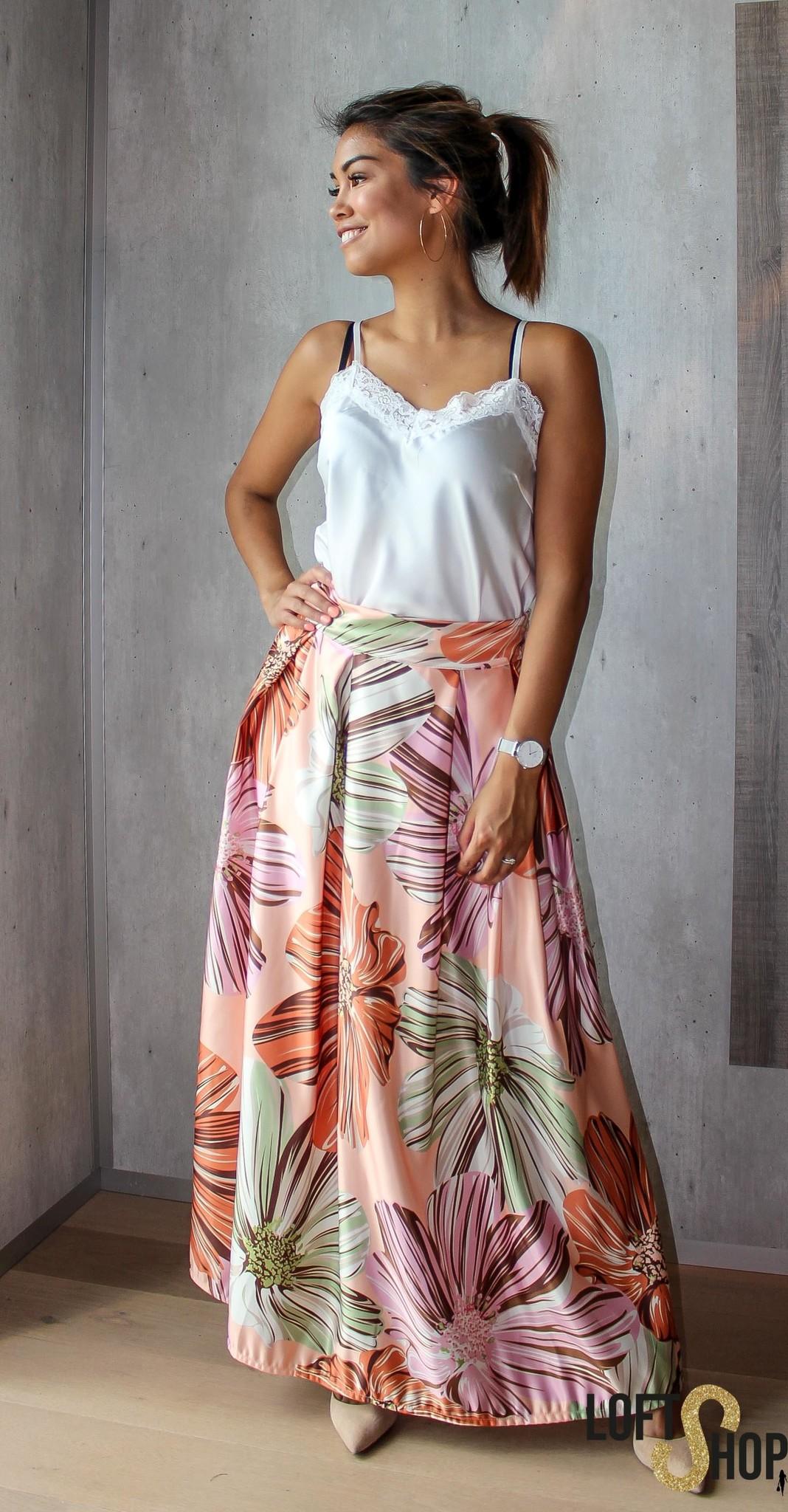 J&D Fashio Skirt Donna Peach