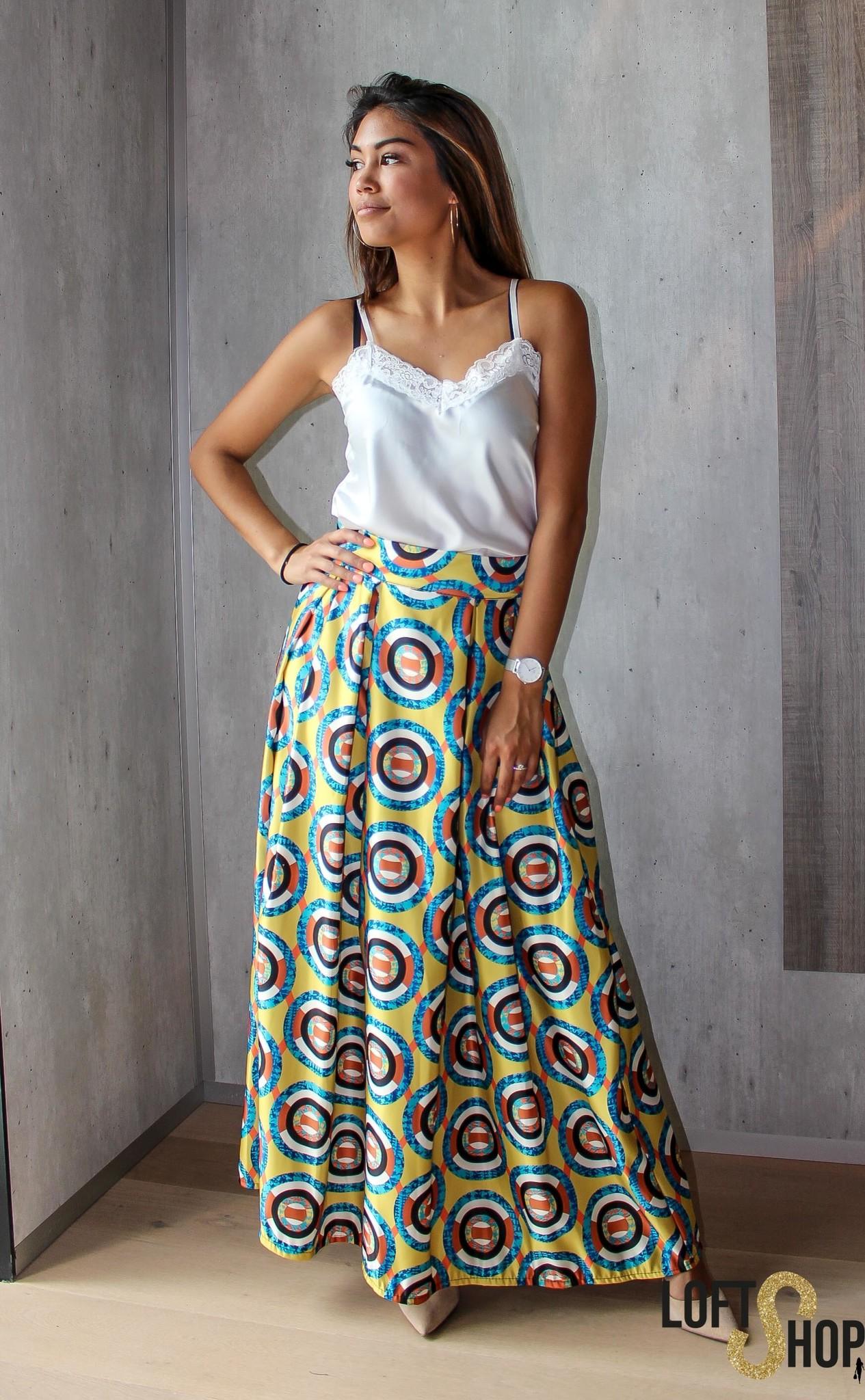 J&D Fashio Skirt Donna Circle