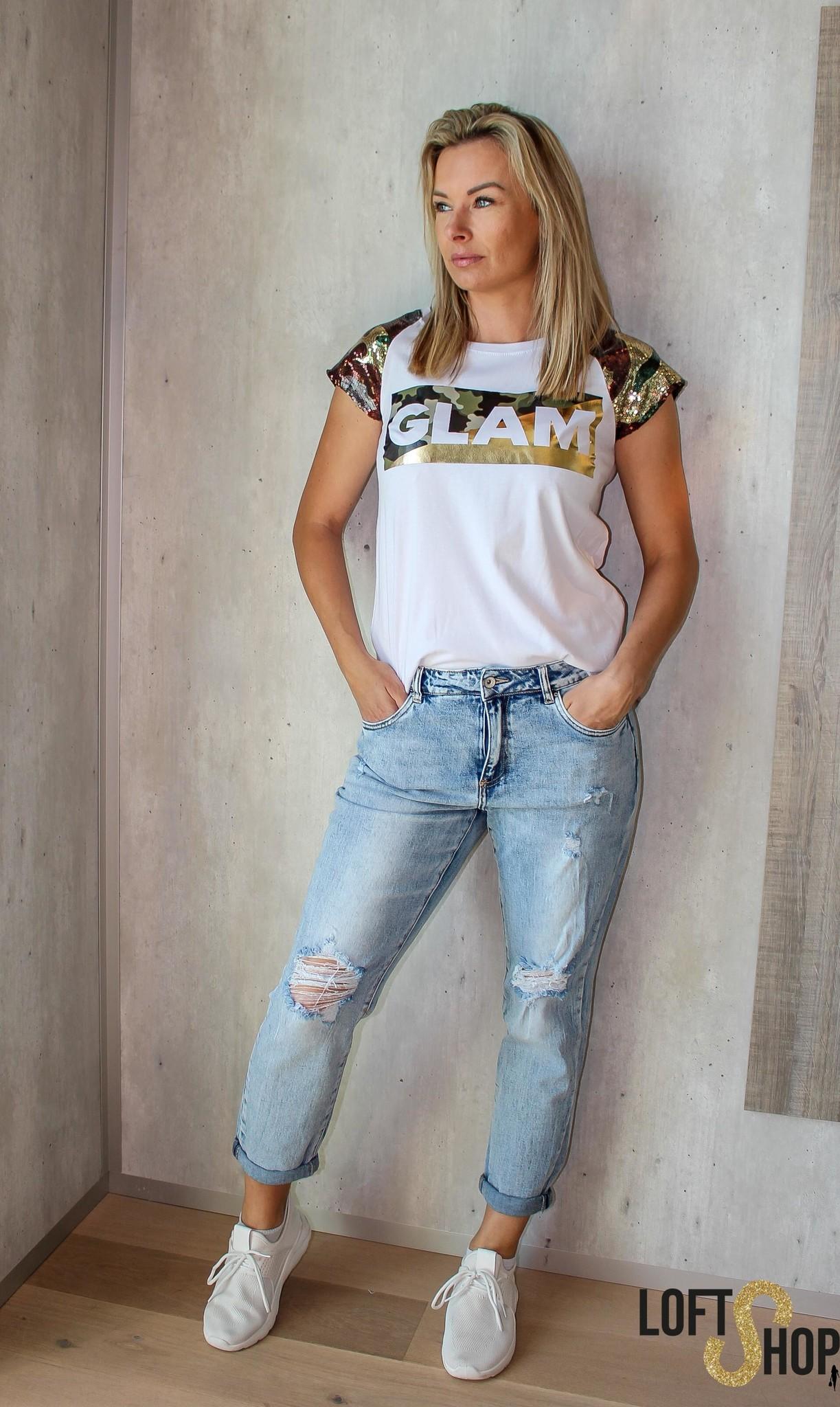 J&D Fashio T-shirt Glam TU