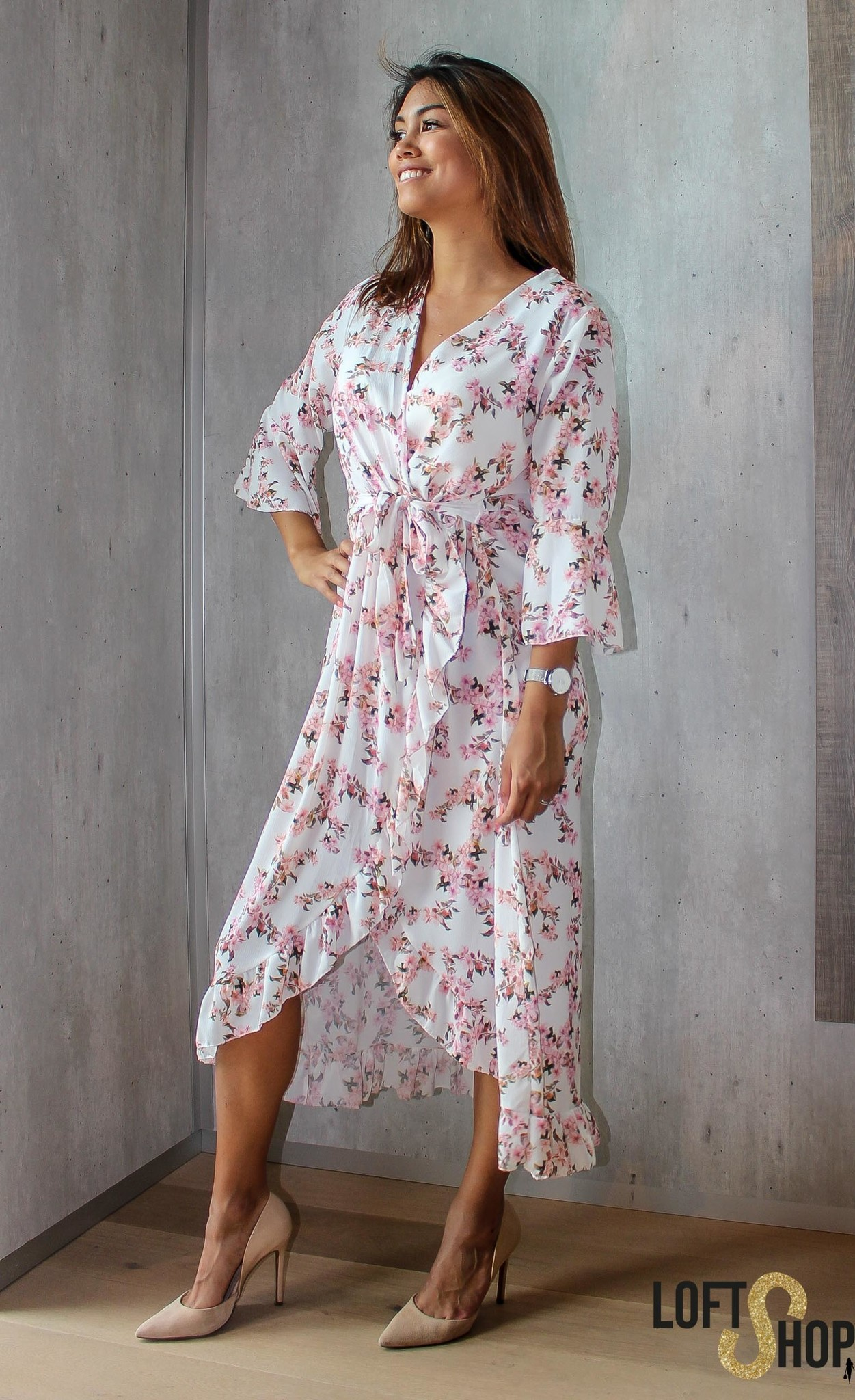 Lisa Fashion Dress Julia Long White TU