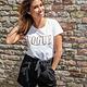 Lisa Fashion T-Shirt Vogue White