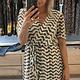 Lisa Fashion Dress Agnes gold/black