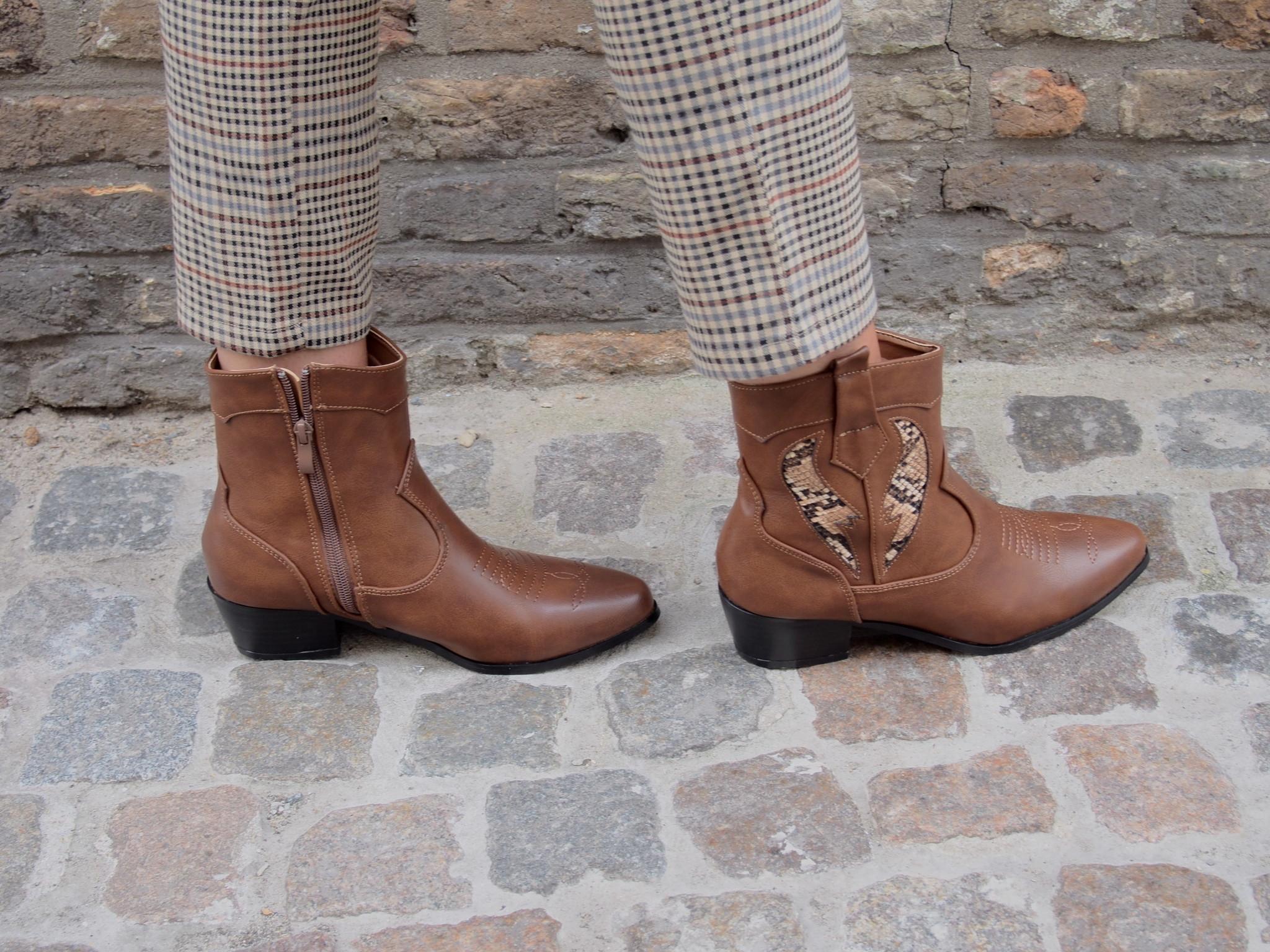 Diva Cowboyboots bruin Luca