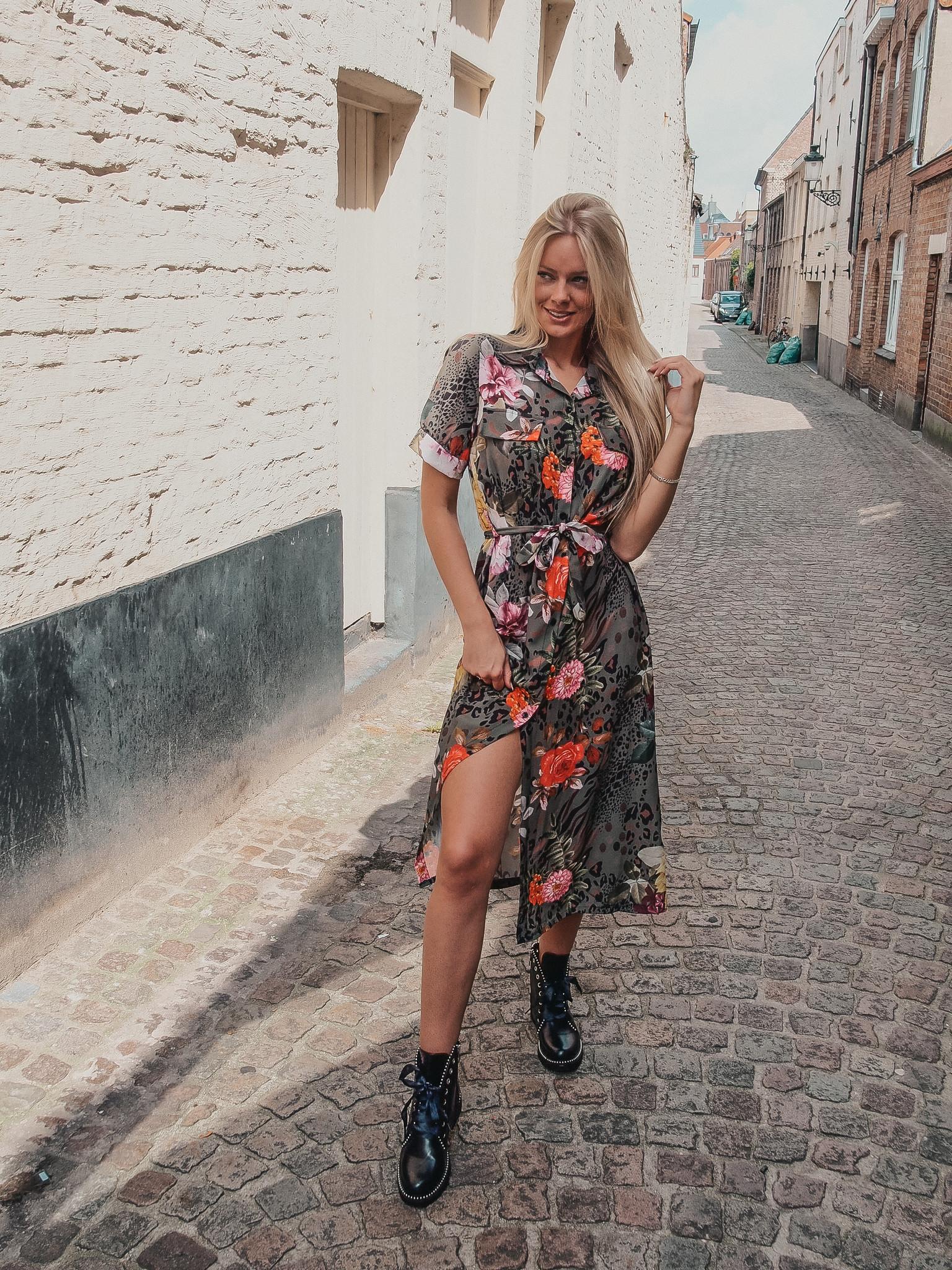 Lisa Fashion Dress Sydney kaki