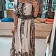 Blu Royal Dress Eve Long TU