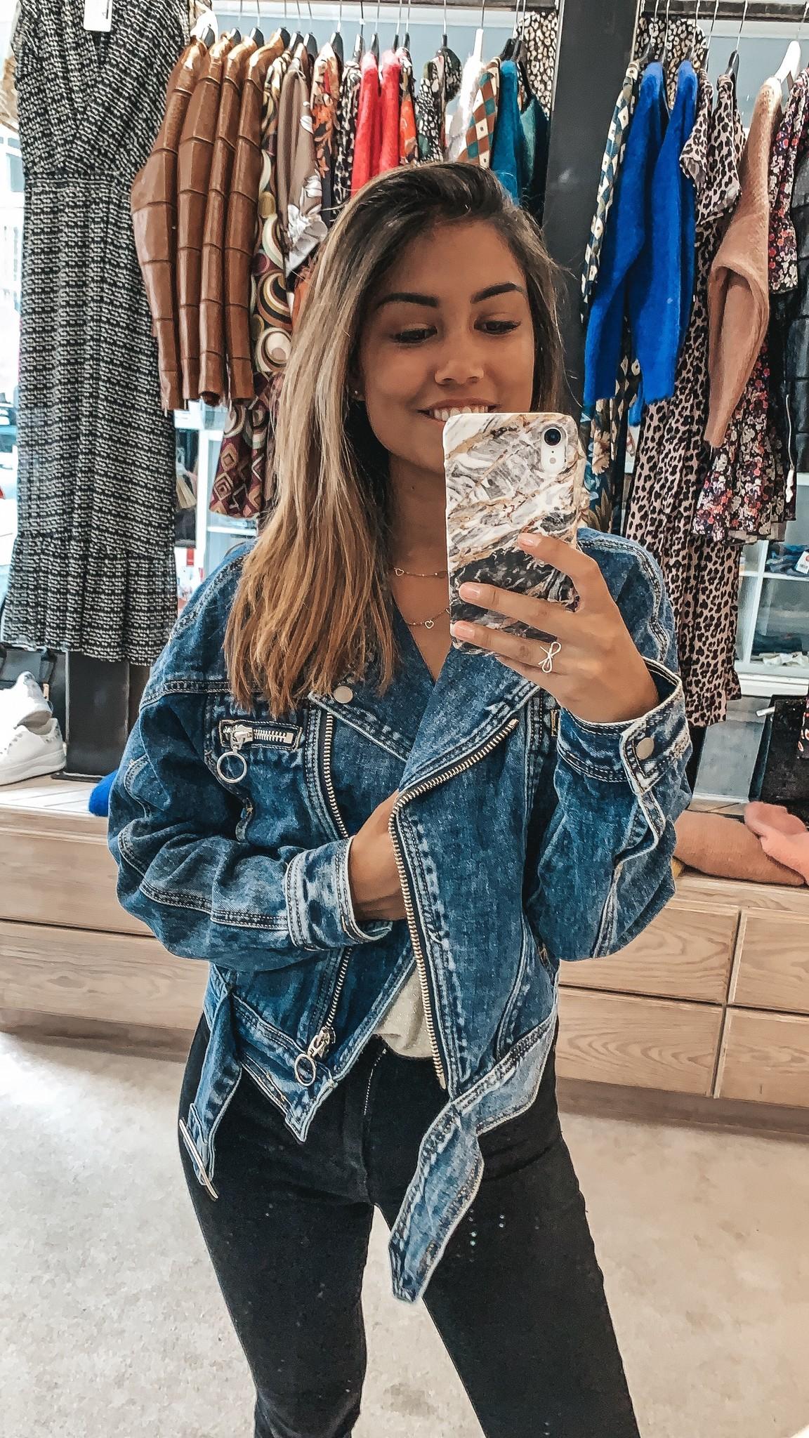 Yuk Yuk Jeans Biker Jacket