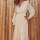 S&W Dress Maya Beige