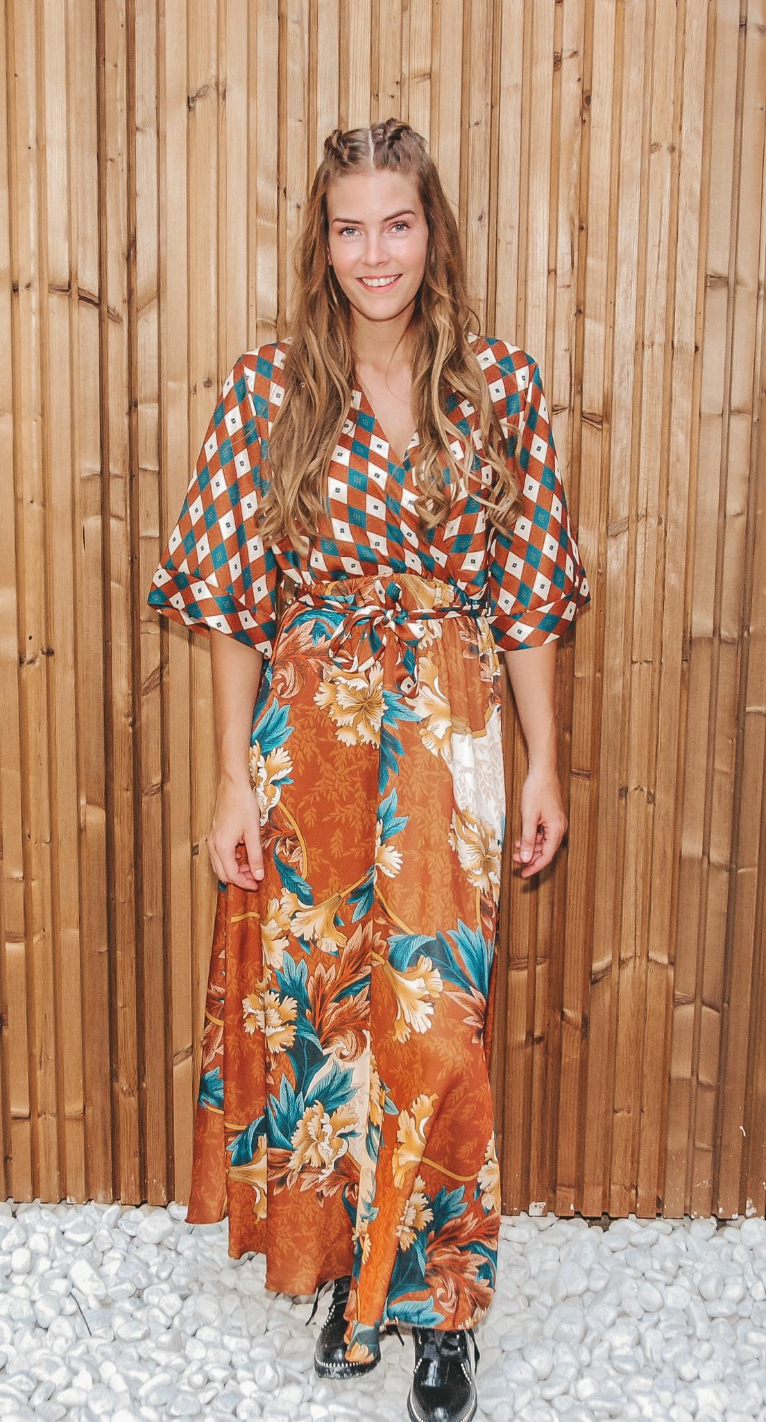 Blu Royal Dress Charlotte Roest TU