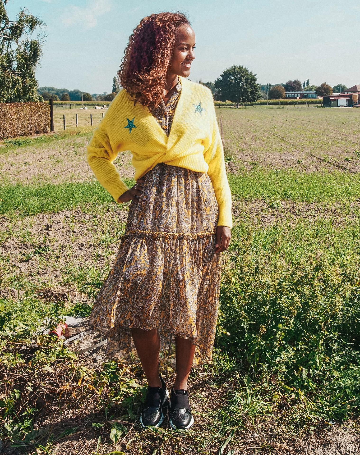 Joleen Dress Stella Yellow TU