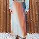 MissMiss Pleated Skirt Multicolor